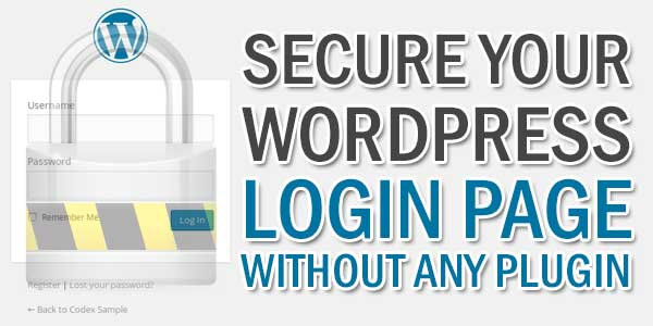 Secure-Your-WordPress-Login-Page-Without-Any-Plugin