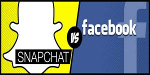 Comparing-Snapchat-And-Facebook-Infograph