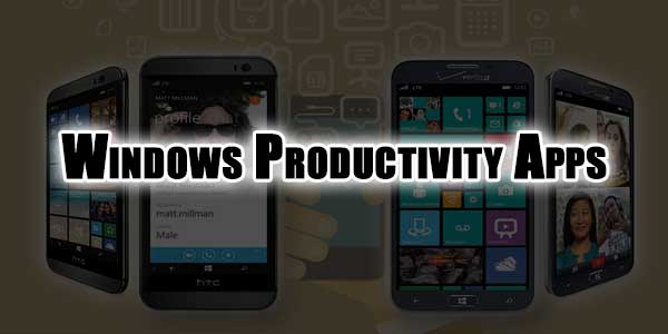 Windows-Productivity-Apps