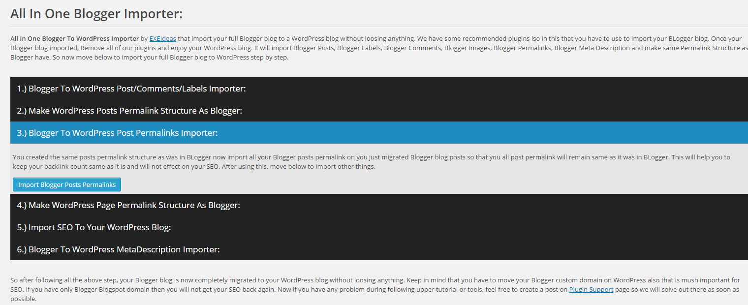 Blogger-To-WordPress-Post-Permalinks-Importer