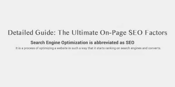 Detailed-Guide-On-On-Page-Factors-In-SEO-Infograph