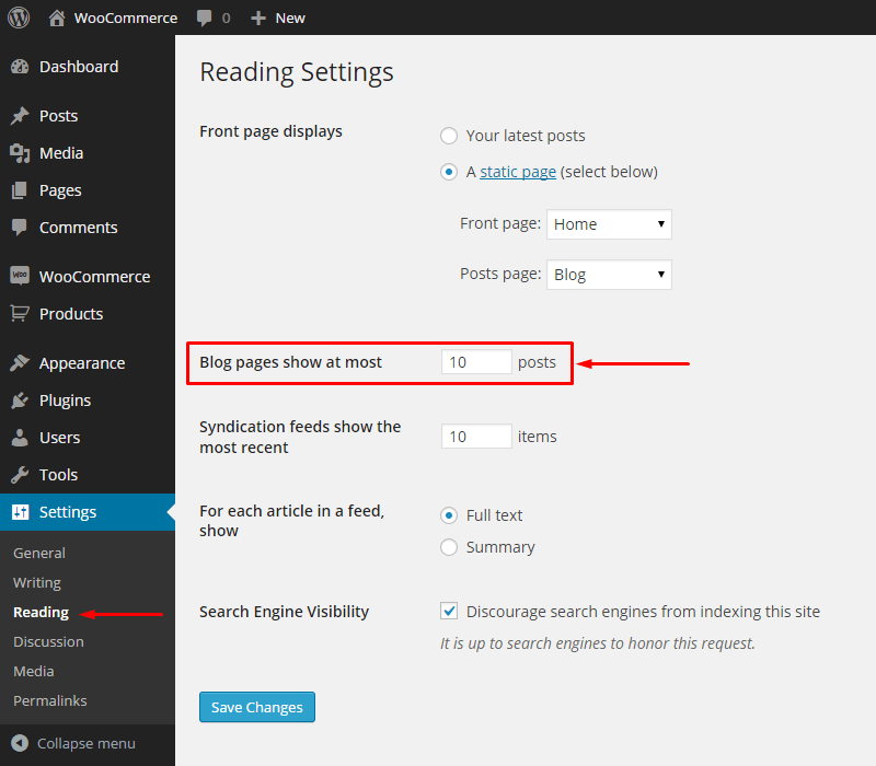 How-To-Change-No-Of-Posts-Displayed-Per-Page-In-WordPress