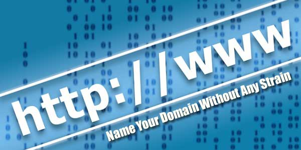 Name-Your-Domain-Without-Any-Strain