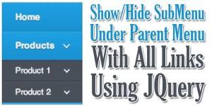Show-Hide-SubMenu-Under-Parent-Menu-With-All-Links-Using-JQuery