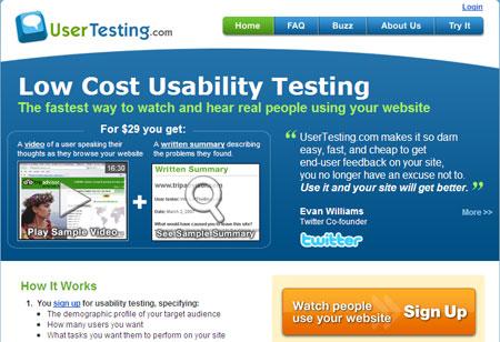User Testing