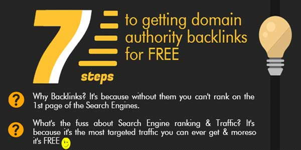 7-Ways-To-Get-Domain-Authority-Backlink-For-Free-Infographic
