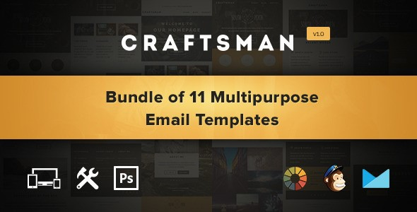 Craftsman-Email-Templates