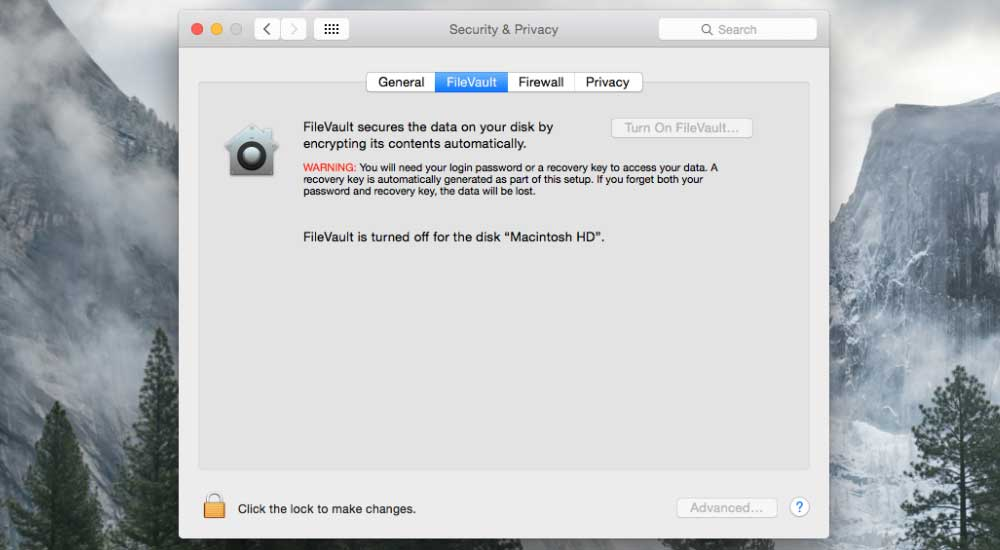 Turn-on-FileVault