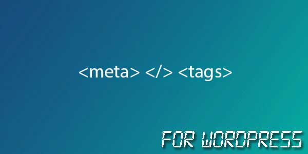 Meta-Tags-For-WordPress