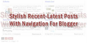 Stylish-Recent-Latest-Posts-With-Navigation-For-Blogger