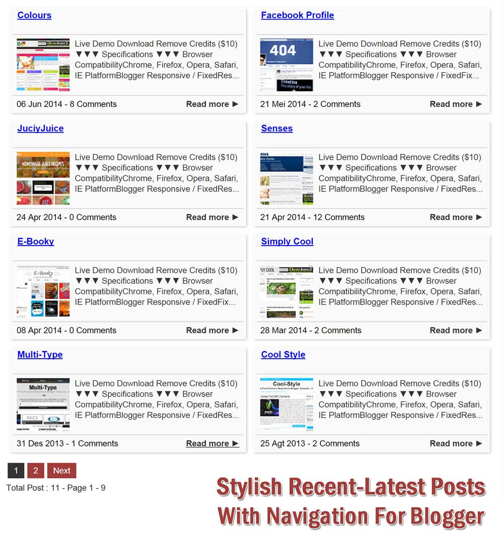 Stylish-Recent-Latest-Posts-With-Navigation-For-Blogger-DEMO