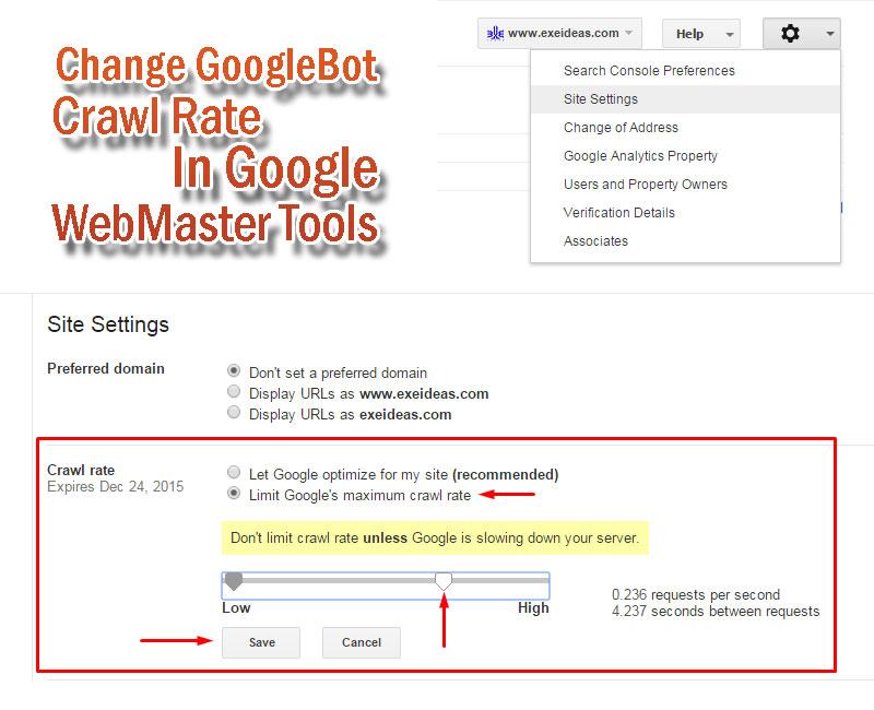 Change-GoogleBot-Crawl-Rate-In-Google-WebMaster