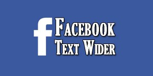Facebook-Text-Wider