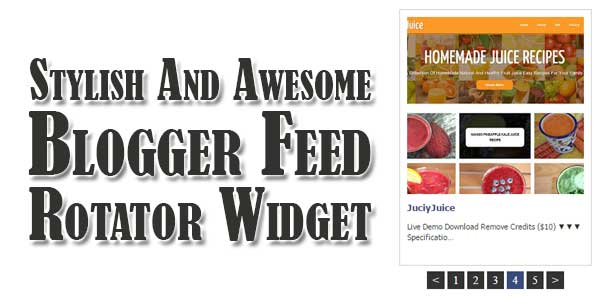 Stylish-And-Awesome-Blogger-Feed-Rotator-Widget