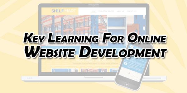 Key-Learning-For-Online-Website-Development
