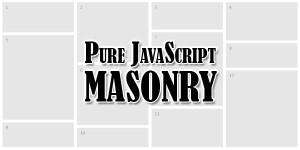 Pure-JavaScript-MASONRY