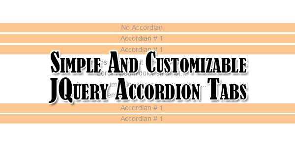 Simple-And-Customizable-JQuery-Accordion-Tabs