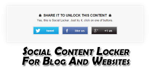 Social-Content-Locker-For-Blog-And-Websites