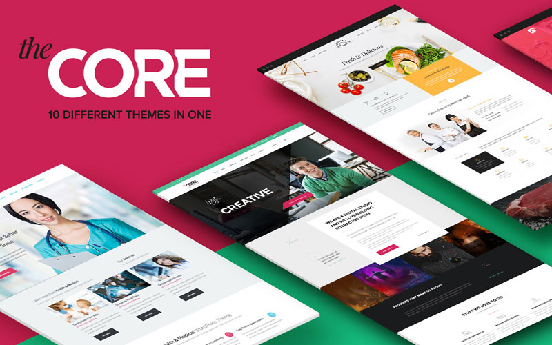 The-Core--10-Different-Theme-In-One