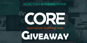 The-Core--A-Multi-Purpose-WordPress-Theme-Giveaway