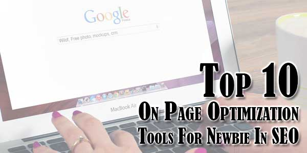 on page optimization in seo pdf