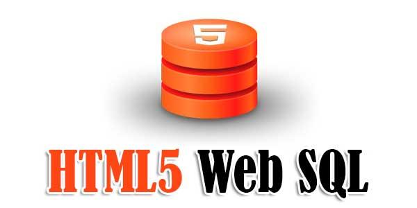 HTML5-Web-SQL
