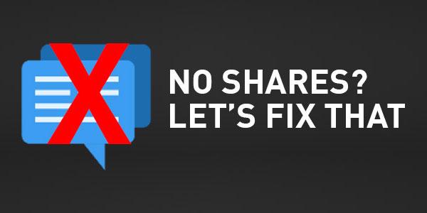 No-Shares-Lets-Fix-That
