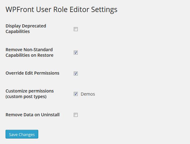 WPFront-User-Role-Editor