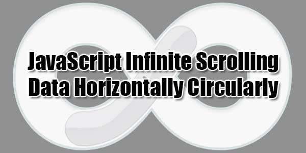 JavaScript-Infinite-Scrolling-Data-Horizontally-Circularly