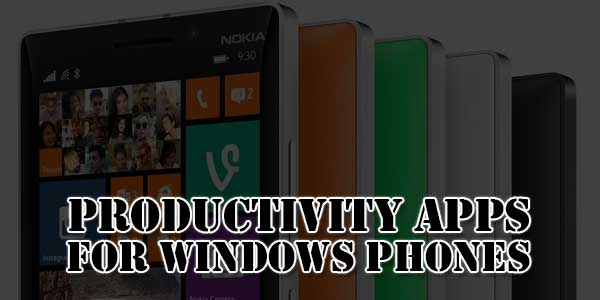 Productivity-Apps-For-Windows-Phones