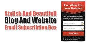 Stylish-And-Beautifull-Blog-And-Website-Email-Subscribtion-Box