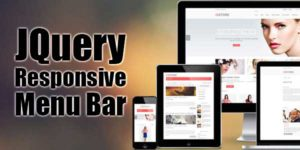 JQuery-Responsive-Menu-Bar
