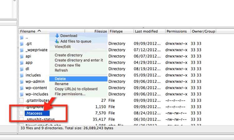 Fix-403-Forbidden-Error-In-WordPress-By-htaccess-File