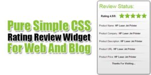 Pure-Simple-CSS-Rating-Review-Widget-For-Web-And-Blog