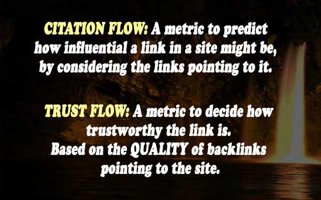 Citation-Flow-and-Trust-Flow-Defination
