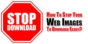 How-To-Stop-Your-Web-Images-To-Download-Easily