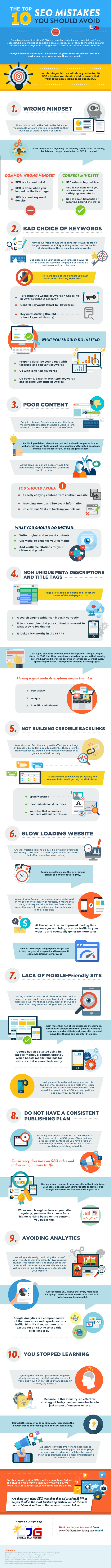 the-top-10-seo-mistakes-you-should-avoid-infographics