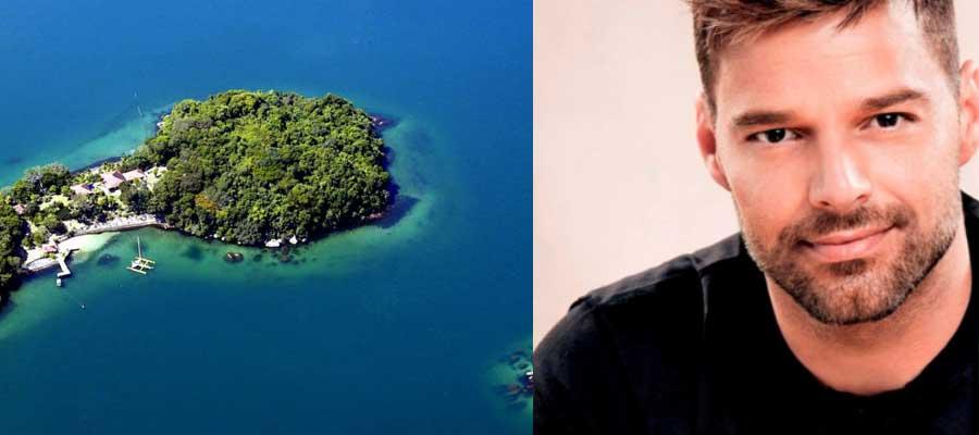 Ricky-Martins-Island-In-Angra-Dos-Reis,-Brazil