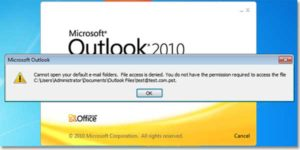 Resolved-Error-Outlook-2010-Access-Denied