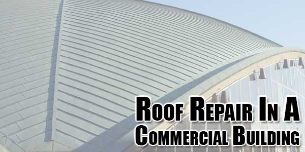 Roof-Repair-In-A-Commercial-Building