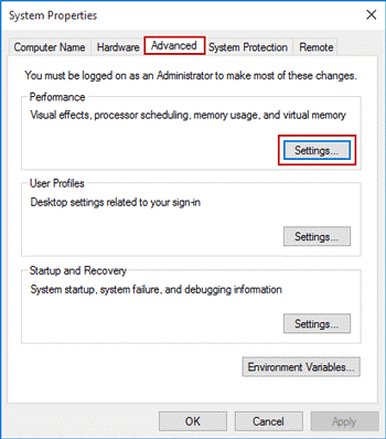 Set CPU Priority To Prefer Foreground Apps In Windows 10 - 4
