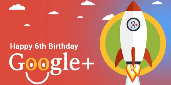 Happy-6th-Birthday-GooglePlus-Infographic