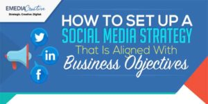 How-To-Setup-A-Social-Media-Strategy-That-Is-Aligned-With-Business-Objectives-Infograph