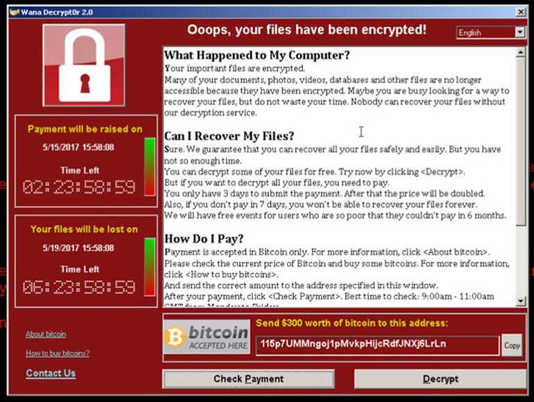 Ransomware-WannaCry