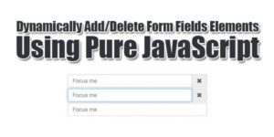 Dynamically-Add-Delete-Form-Fields-Elements-Using-Pure-JavaScript