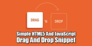 Simple-HTML5-And-JavaScript-Drag-And-Drop-Snippet