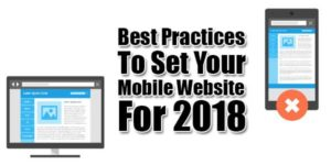 Best-Practices-To-Set-Your-Mobile-Website-For-2018