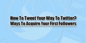 How-To-Tweet-Your-Way-To-Twitter-Ways-To-Acquire-Your-First-Followers