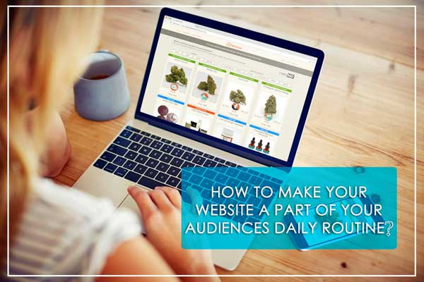 How-To-Make-YOur-Website-A-Part-Of-Your-Audience-Daily-Routine