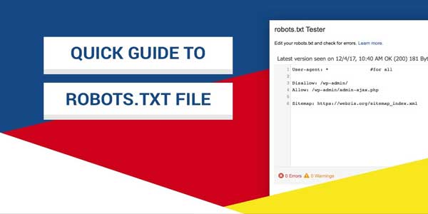 Quick-Guide-To-Robots.txt-File
